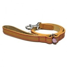 Rosewood Lux Leather Tan Dog Lead