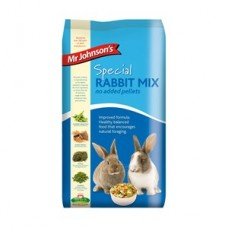 Mr Johnsons Special Rabbit Mix - No Added Pellets 15kg