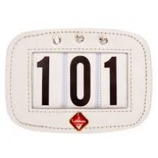 Hamag LeMieux Saddle Pad Number Holder Diamante White