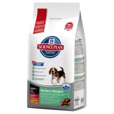Hills Science Plan Canine Adult - Perfect Weight Medium 10kg