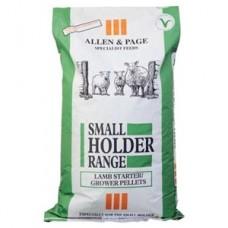 Allen & Page Smallholder Range Lamb Starter Grower Pellets 20kg