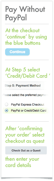 Pay By Credit/Debit Card