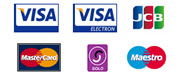 Pay by credit card, no Paypal account needed