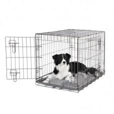Dogit 2 Door Black Dog Crate - Medium