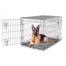 Dogit 2 Door Black Dog Crate - Giant