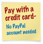 Pay with a credit card